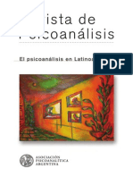 El Psicoanalisis en Latinoamerica