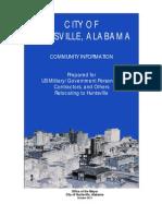 Huntsville Community Information