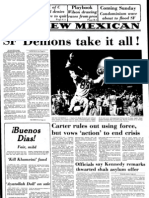 Headlines and highlights of the 1979 Santa Fe High School run to the championship