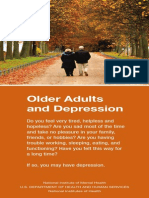 Older Adults and Depression