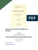Historia general de la República del Ecuador-Tomo 3-Federico Gonzalez Suarez