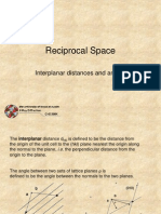 23 Reciprocal Space