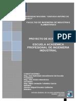 Estructura Proyecto Acreditación 2014