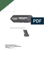 MANUAL BATICORROMETRO POLATRAK CP-GUN EN ESPAÑOL