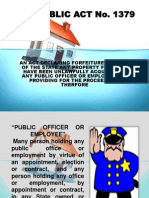 Republic Act No. 1379