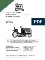 Craftsman LT2000 Owner's Manual
