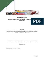 ESENCIA, CONTENIDO Y REALIZACIÓN DE LAS ESTRATEGIAS SELECTIVAS EN EL DEPORTE