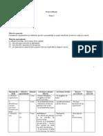 Proiect Didactic - X a Raliul Aptitudinilor