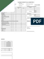 Raport Sementara Booklet
