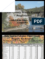 TOWN BY TOWN EXEMPTION STATS