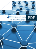 Edelman - Public Engagement in the Conversation Age
