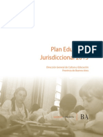 Plan Educativo Jurisdiccional 2013