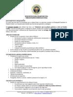 Requisitos Para Visa