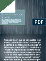 Tribus urbanas en México