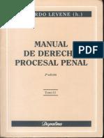 Levenne_ Ricardo - Manual de Derecho Procesal Penal t II
