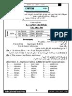 Grammaire_francais en Arabe