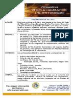 Entrenamiento Fundamento de ITIL (1)