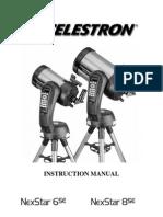 Celestron 8SE Manual