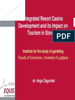 Integrated Resort Casino  Development and its Impact on  Tourism in Slovenia