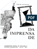 História da Imprensa em Pernambuco - Vol. III