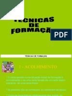 018 - TÉCNICAS DE FORMAÇÃO