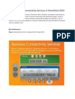 Using Business Connectivity Services in SharePoint 2010