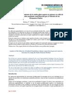 Analisis Del Comportamiento Da La Union Pilar-zapata en Uniones en Caliz de Pilares Prefabricados Mediante Modelizaion MEF