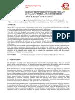 Seismic Behaviour of Reinforced Concret Precast Traditional Italian Frames and Subassemblies