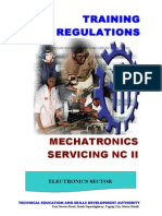Mechatronics Servicing NC II