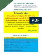 001 Lengua y Literatura