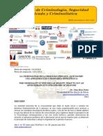 La criminalidad en la realidad peruana