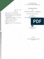 Elementos de Linguística Geral_Martinet