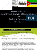 Mozambique country risk ...