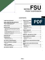 2008 Nissan Teana J32 Service Manual-Fsu