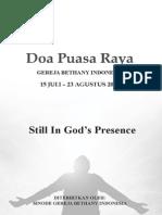 Buku Doa 2012 Sinode Gereja Bethany(1)