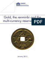 Gold Renminbi Multi-currency Reserve System