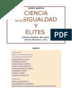 Ciencia Desigualdad y Elites