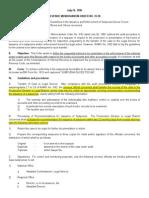 Revenue Memorandum Order No. 35-1990