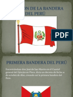 CREACIÓN DE LA BANDERA DEL PERÚ
