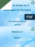 Aula 2 – Modelagem de Processos