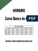 Horário BB 2014 - Semana 03