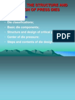 The Structure and Design of Press Dies