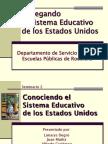2.Conociendo El Sistema Educativo de Los Estados Unidos