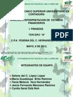 DIAPOSITIVAS DE ANÁLISIS FINANCIEROS. EXPO