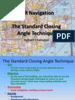 VFR Navigation Part 3 - The Standard Closing Angle Technique