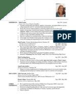 resume nov  2013