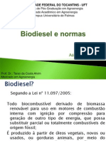 Biodiesel e Normas