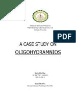 Case Study for Oligohydramnios
