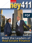 Private Money 411 - Special Supplement from Realty411
