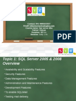 SQL Server DBA Online Training by Real Time Experts